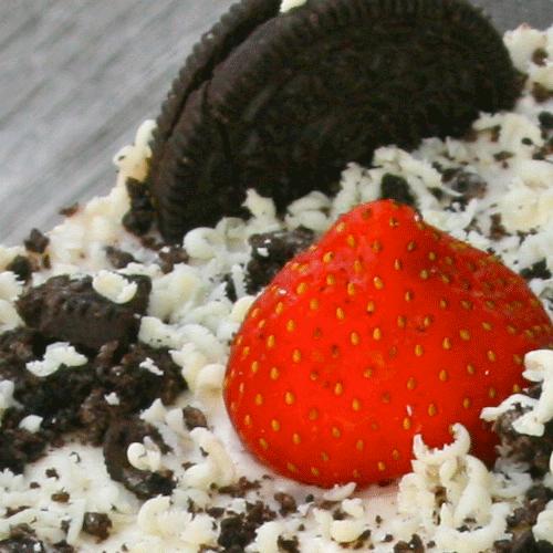 Erdbeer Oreo Frischkase Torte No Bake Kuchenmomente